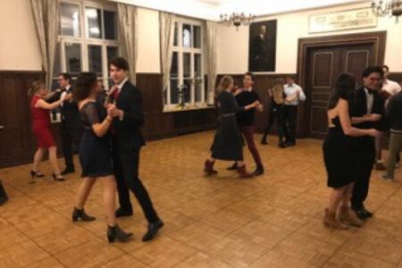 F. Krzavic - gib Alles! Die Aktiven zeigten ihre Tanzkünste während des Tanzabends mit großer Motivation.