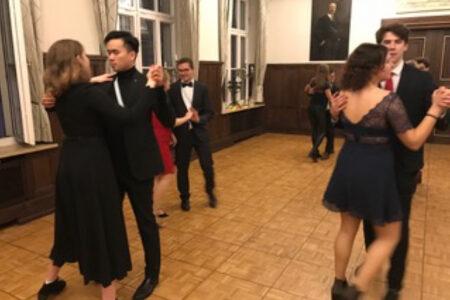 Bis zum Ende tanzten Corpsbrüder, Gäste und Freunde bis spät in die Nacht